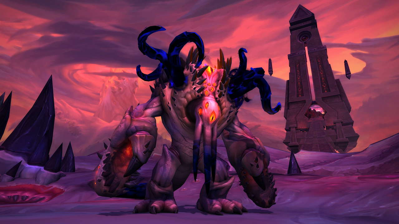PROGRESS: NY'ALOTHA – CARAPACE OF N'ZOTH DOWN!