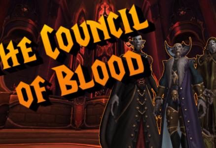 PROGRESS: COUNCIL OF BLOOD DOWN!