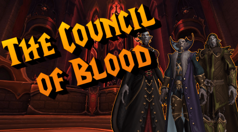 PROGRESS: COUNCIL OF BLOOD DOWN!